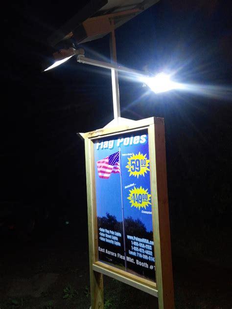 Solar Billboard Lights High End Commercial Solar Billboard 2 Sided Light