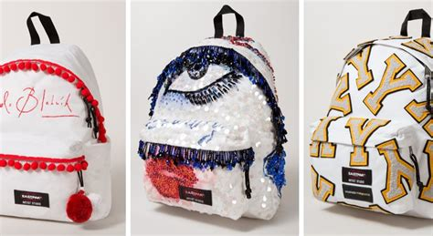Inini Motif Vintage Lunch Bag Pink eastpak and designers against aids 16 bags customised