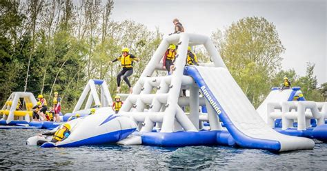manley mere aquapark charity fun day  weekend