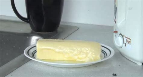 butter at room temperature guess what happens to a stick of butter at room temperature rtm rightthisminute