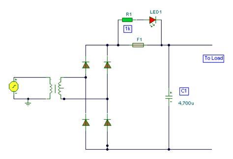 blown fuse indicator led circuit blown fuse indicator circuit wiring diagrams