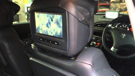 peugeot 5008 3008 dvd player set system