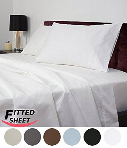 best fitted sheets utopia bedding queen fitted sheet 200 thread count 100