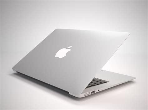 New Macbook Air the new macbook air 2015 3d model max obj fbx mtl cgtrader