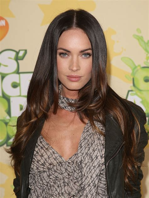 fox women hair megan fox s long hairstyles