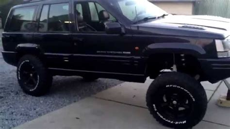 jeep grand cherokee prerunner lifted jeep grand cherokee zj 5 9 v8 youtube