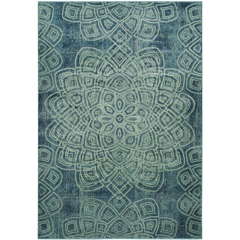 safavieh constellation vintage turquoise multi 2 ft 2 safavieh constellation vintage light blue multi 6 ft 7 in x 9 ft 2 in area rug cnv751 2220 6