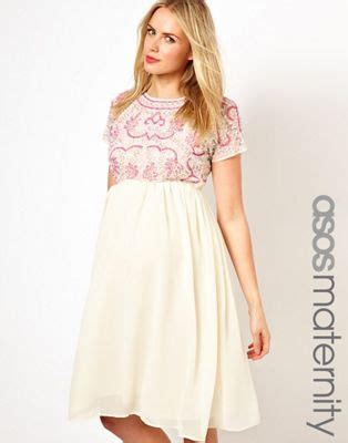 o midi maternity asos maternity asos maternity midi dress with embellishment