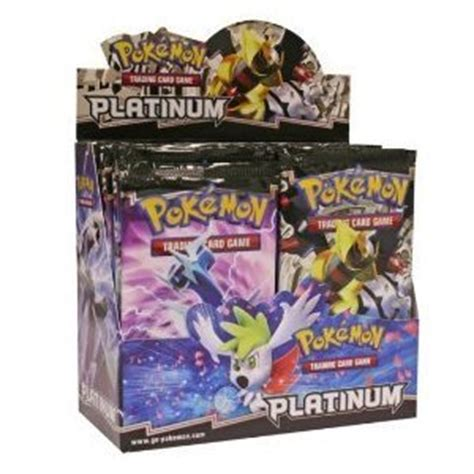 card packs cards platinum booster box 36