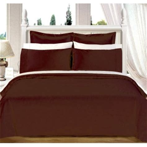 olympic queen bed 550tc chocolate olympic queen bed in a bag with comforter