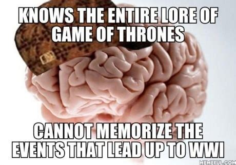 brain of thrones a not a single