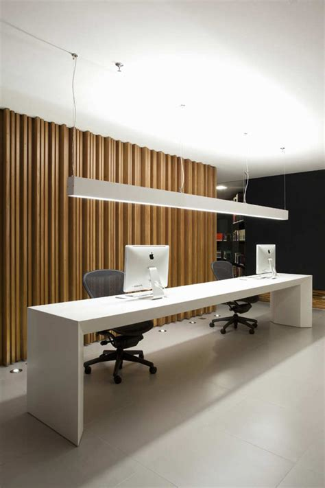 Office Interior Design by Apartments Luxury Modern Office Space Ideas With White