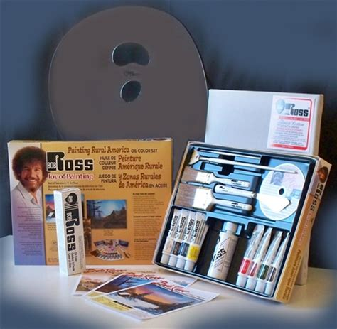 bob ross paints in canada bob ross rural america paint set with extras canada ak