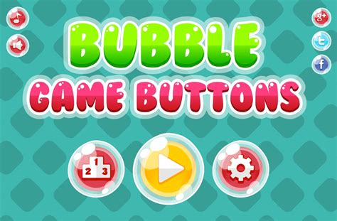 bubble game button pack opengameartorg