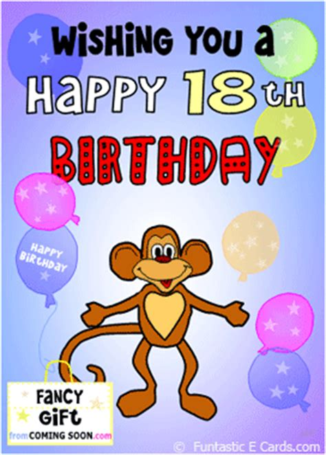 Birthday Card For 18 Year Happy 18th Birthday Funny Quotes Quotesgram