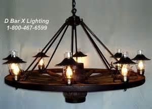 ww024 60 8 wagon wheel chandeliers with hurricane