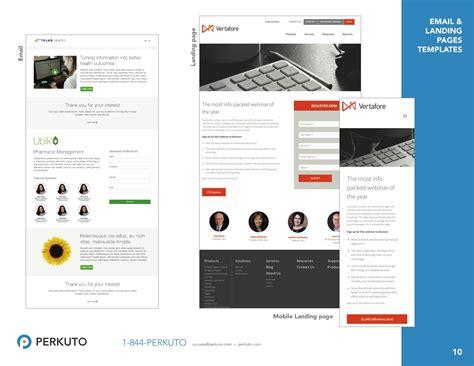 marketo landing page templates marketo templates portfolio landing page templates email templates perkuto