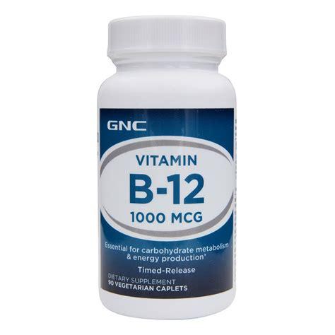 Vitamin Gnc Gnc Singapore Gnc Vitamin B 12 1000 90 Vegicaps