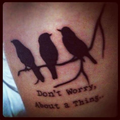 3 little birds tattoo three birds www imgkid the image kid