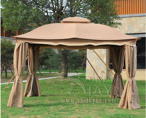 patio tent gazebo 3x3 6 meter deluxe aluminum patio gazebo tent garden shade