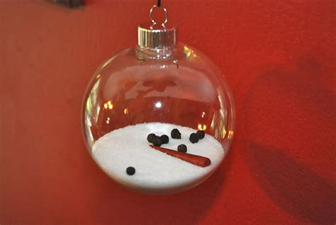 the melted snowman ornament eyeballs by day crafts by