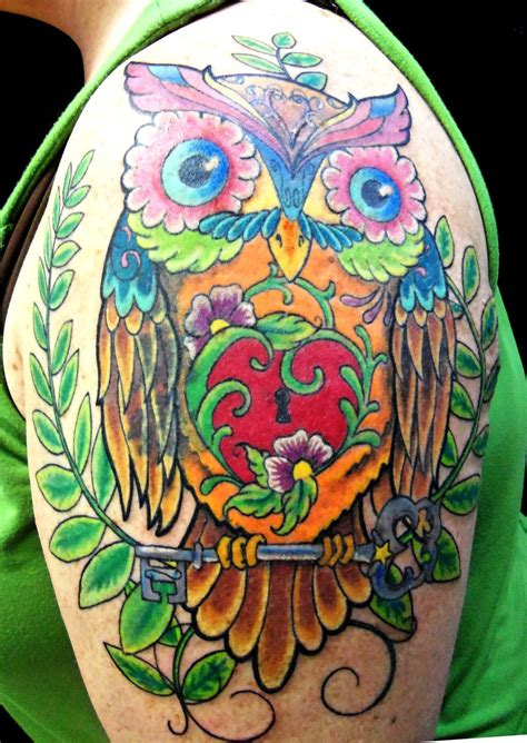 owl tattoo american traditional owl tattoo by janatats on deviantart
