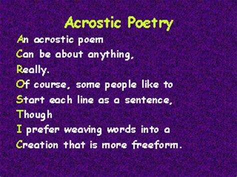 theme poem generator acrostic poem maker free online