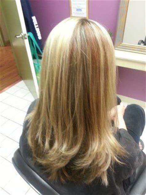copper lowlights  dirty blonde hair blonde highlights