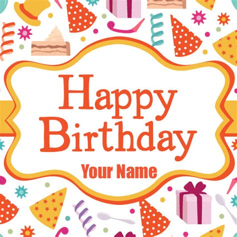 Happy Birthday Cards Write Name Write Name On Happy Birthday Wishes Mobile Greeting