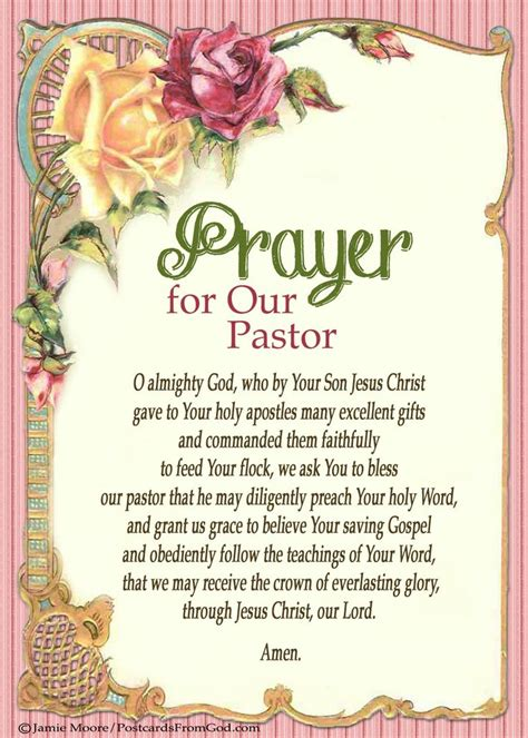 thank you letter to our pastor pray for your pastor quotes quotesgram