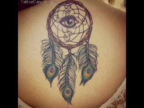 dream catcher tattoo ideas casual dreamcatcher tattoo dreamcatcher back tattoo on