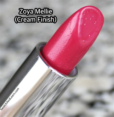 Review Lipstik Zoya zoya lipstick swatches review mellie swatch and learn