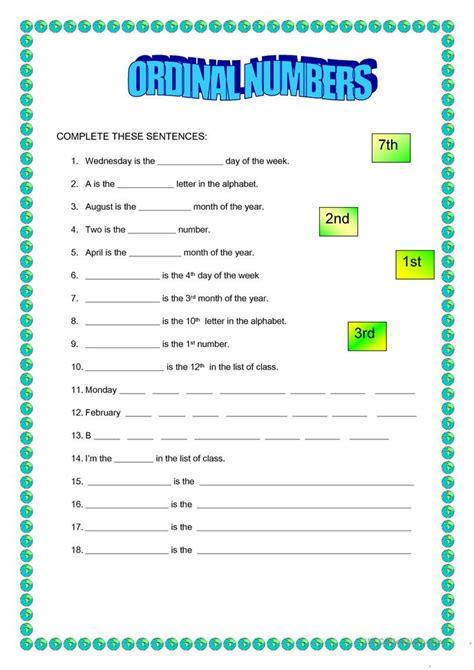 ordinal numbers 1 100 printable ordinal numbers 1 100 worksheet free esl printable