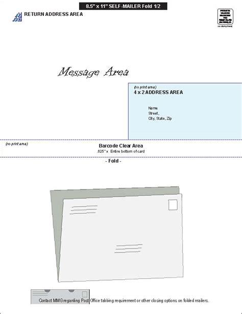 8 5 x 11 half fold card template tools tips for direct marketing in san diego mail