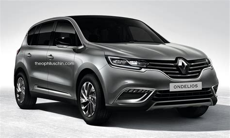 renault 7 seater suv renault s upcoming 7 seat suv rendered with espace cues