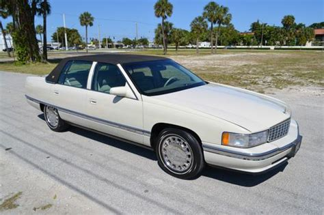 how do i learn about cars 1996 cadillac deville engine control find used 1996 cadillac sedan deville concours in fort lauderdale florida united states for