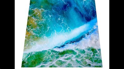 watercolor waves tutorial watercolor ocean waves painting tutorial youtube