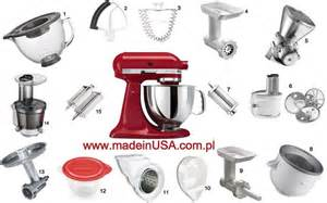Kitchen Aid Mixer Accessories Kitchenaid Mixer And All Attachments Www Madeinusa Com Pl