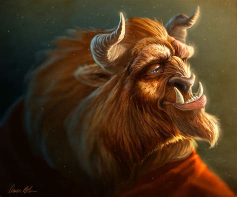 the beast realistic rendering of the beast from disney s beauty and