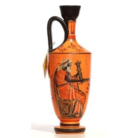 Zeus Vase Ancient Greek Ceramic Vase Pot Vessel Lekythos Goddess
