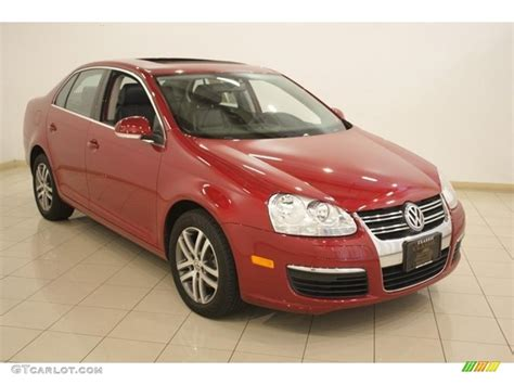 Image Gallery 2006 Jetta Red
