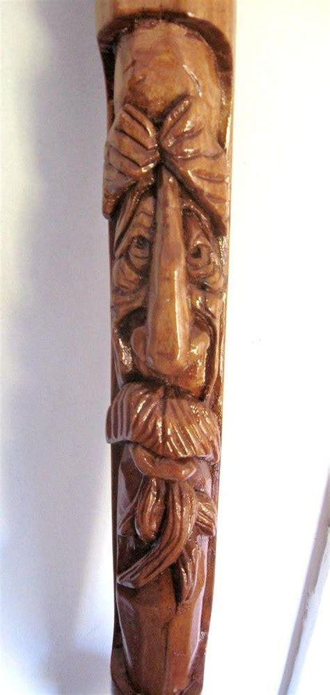ideas  hand carved walking sticks