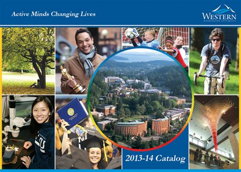 Western Washington Academic Calendar Western Washington Acalog Acms