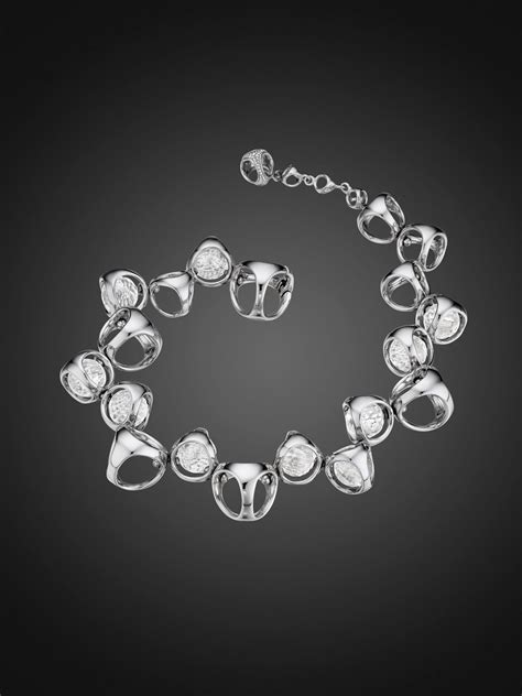 Di Modolo Icon Bracelet with Rock Crystal in Sterling