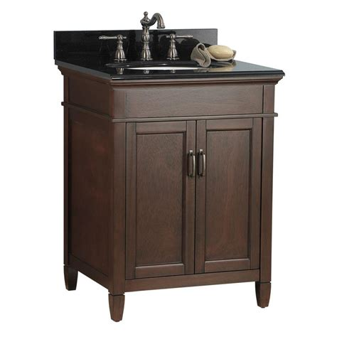 Home Depot Granite Vanity Top by Foremost Naples 25 In W X 22 In D X 34 In H Vanity In