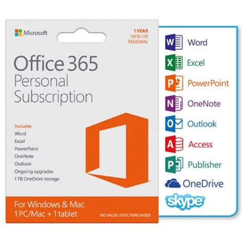 Microsoft Office 365 Personal Office365 microsoft office 365 personal subscription tradeline stores