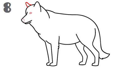 How To Draw A Wolf That Is Easy How To Draw A Wolf Step By Step