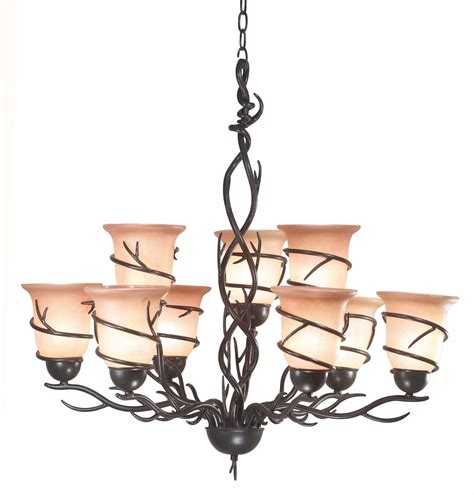 light twigs twigs 9 light chandelier from kenroy 90909brz coleman