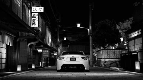black and white japan wallpaper black and white cars toyota monochrome back view