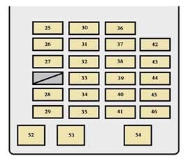 toyota seguoia generation 2001 2002 fuse box diagram auto genius